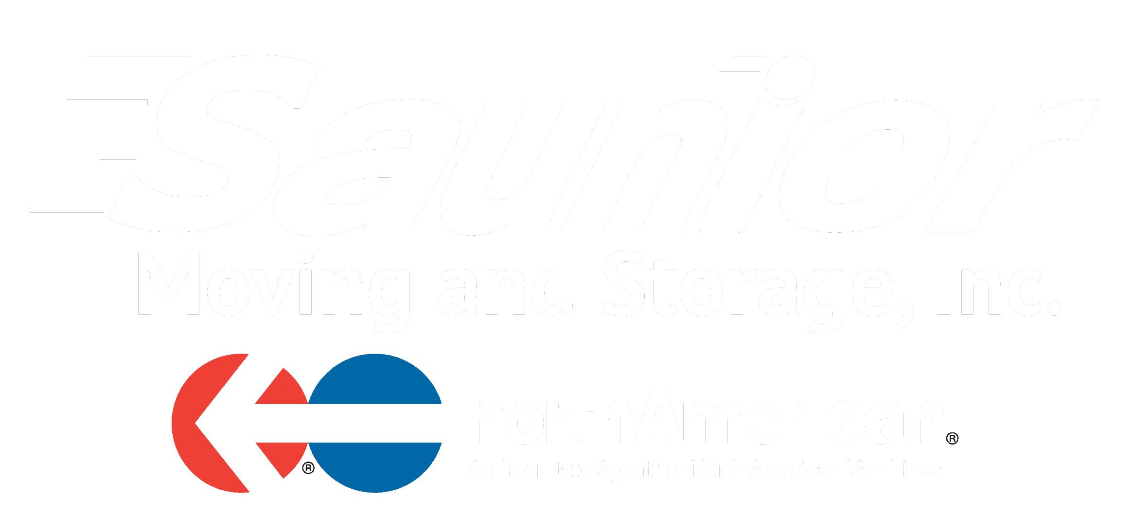 saunier NA logo white